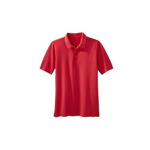 Benbarton Pima-Pikee-Polo, Herren, 48 - Rot