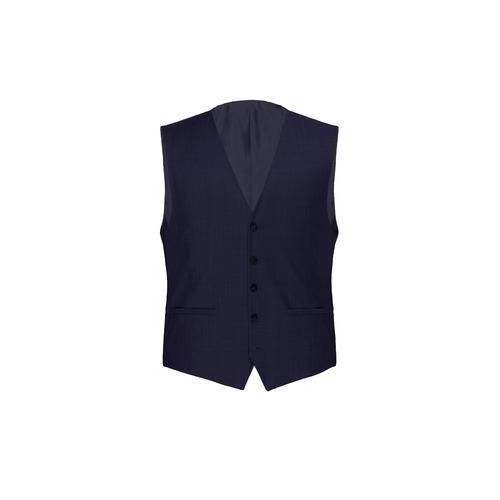 Modul-Anzugweste, -Anzughose oder -Anzug-Sakko Super-120, Anzugweste - 27 - Blau