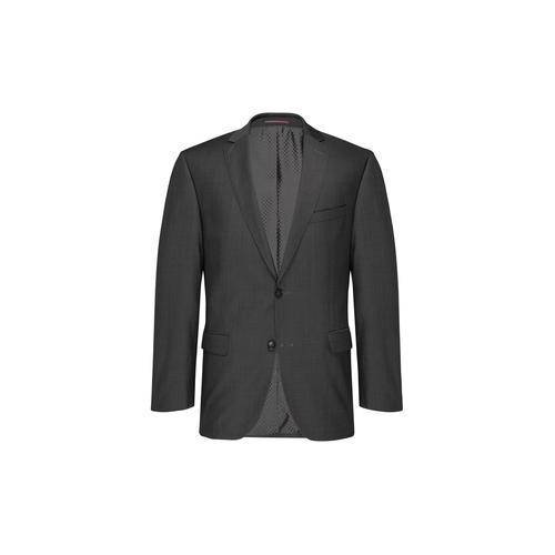 Modul-Anzugweste, -Anzughose oder -Anzug-Sakko Super-120, Sakko - 54 - Grau