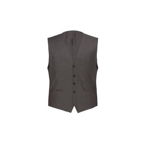Modul-Anzugweste, -Anzughose oder -Anzug-Sakko Super-120, Anzugweste - 28 - Grau