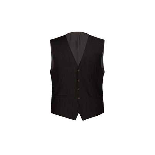 Modul-Anzugweste, -Anzughose oder -Anzug-Sakko Super-120, Anzugweste - 29 - Schwarz