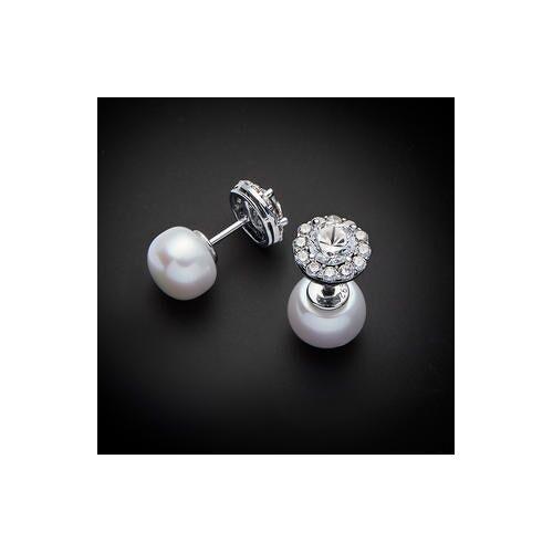 Pearl Sakura Pearl Vario-Ohrstecker, 925er Silber