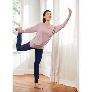 Curare Yogawear Curare Yoga-Tank-Top, -Fledermaus-Shirt oder -Volant-Pants, Volant-Pants - 36 - Indigo