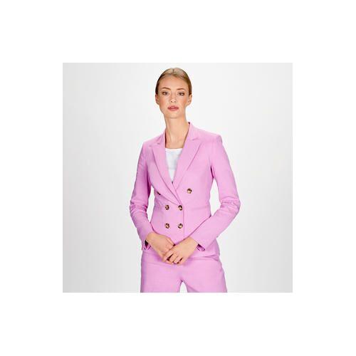 Pinko Leinen-Hose oder -Blazer Pink-Rosé, Blazer - 40 - Pink-Rosé