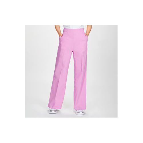 Pinko Leinen-Hose oder -Blazer Pink-Rosé, Hose - 42 - Pink-Rosé