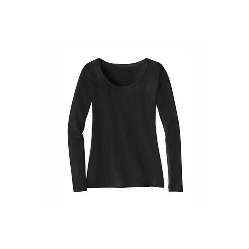 La Prenda Alpaka-Pima-Shirt, 36 - Anthrazit