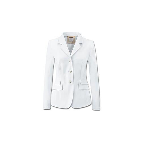 Waschbarer weißer Blazer, 44 - Weiß