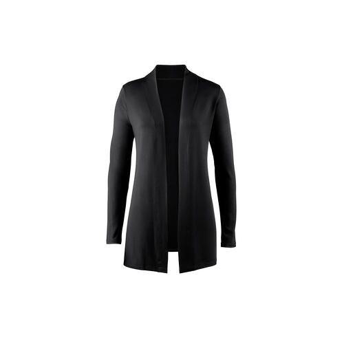 Moya Basic-Shirt, -Rock, -Hose oder -Cardigan, Cardigan - 38 - Schwarz