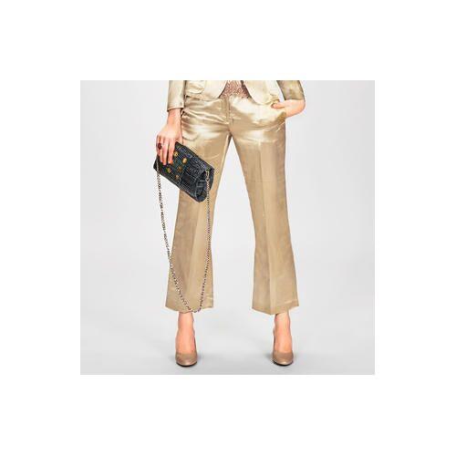 L'Autre Chose L`Autre Chose Gold-Hose oder -Blazer, Gold-Hose - 40 - Gold
