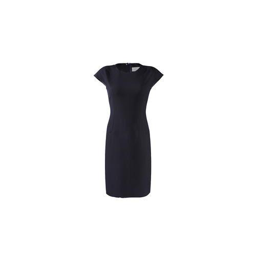NVSCO Cropped-Hose, Shift-Kleid oder Couture-Blazer, Kleid - 42 - Navy