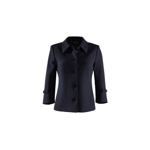 NVSCO Cropped-Hose, Shift-Kleid oder Couture-Blazer, Blazer - 40 - Navy
