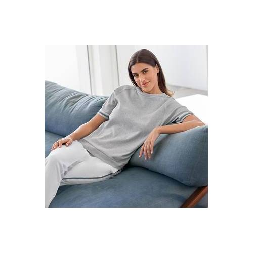 HFor Sweat-Hose, Langarm oder -Kurzarm-Sweater, Kurzarm-Sweater - 42/44 - Grau