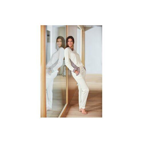 HFor Sweatshirt oder -Hose, Ivory/Rosé, Hose - 36/38 - Ivory/Rosé