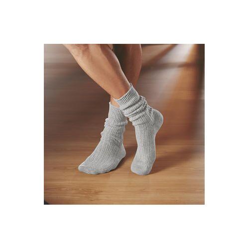 Corgi-Kaschmir-Socken, Damen - 39/40 - Silber
