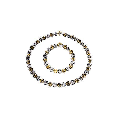 Murano-Perlenarmband oder -collier, Collier