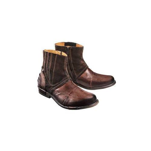 Yellow Cab Büffelleder-Boots, 42 - Braun