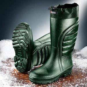 Polyver Premium Winterstiefel, Kälteschutz bei bis zu -50°C, High-Tech-Polyurethan, Gr. 44, grün