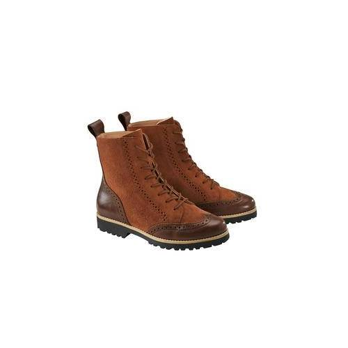 Werner Budapester-Boots, 38 - Cognac