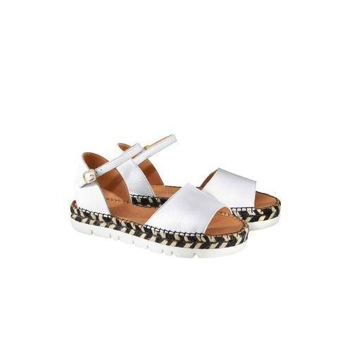 Macarena® Espadrille-Sandale, 41 - Weiß