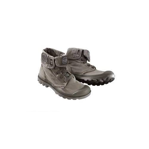 Palladium Canvas-Boots, 36 - Grau
