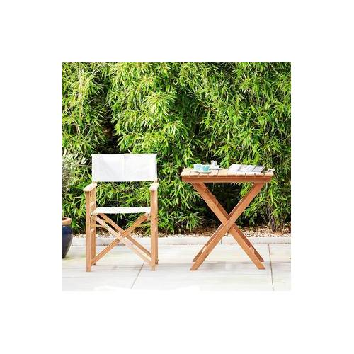 Jan Kurtz Fiji Tisch / Klapptisch aus Teak, 70 x 70 x 73 cm