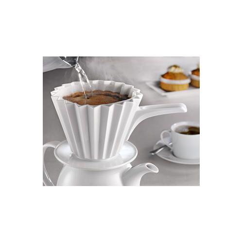 KPM Kaffeefilter Café Berlin Größe 4 mit Griff, Weiß