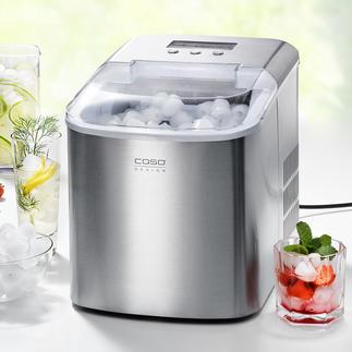 Caso IceChef Pro Design Eiswürfelbereiter, 2,2-l-Wassertank, Edelstahl