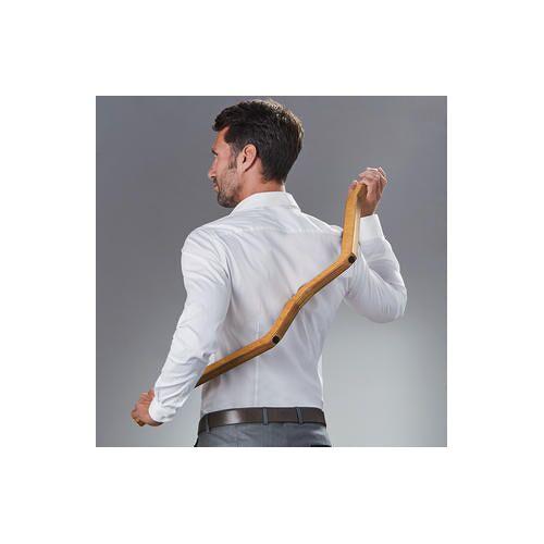 Triggerbow Triggerpunkt Massagegerät für Rücken, Schulter, Nacken und Beine, Birkenholz