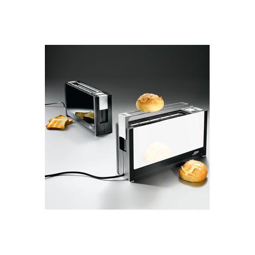 Ritter Volcano 5 Langschlitz-Toaster, weiß