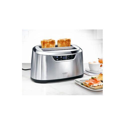 Caso Toaster Novea T4 2777, 1600 W, Edelstahl