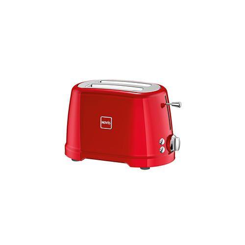 Novis Iconic Line Toaster T2, Zweischlitztoaster, rot