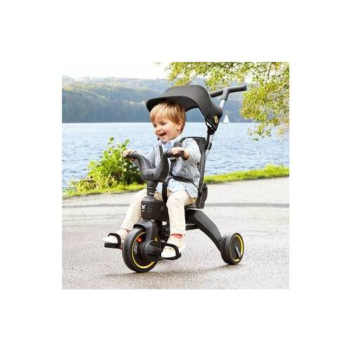 Doona Liki Trike S3, faltbares Dreirad, Grey Hound grau