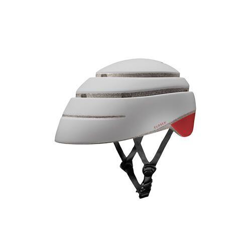 Fahrradhelm Closca™Loop, Fahrradhelm Closca™ Loop Rot - L (59 – 63 cm) - Perlweiß