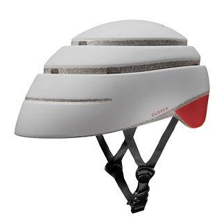 Fahrradhelm Closca™Loop, Fahrradhelm Closca™ Loop Rot - M (56 – 59 cm) - Perlweiß