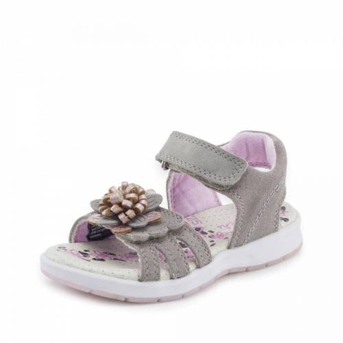 Lurchi Sandale - Mädchen - grau, jetzt im Angebot