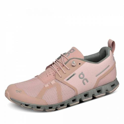 ON Cloud Waterproof Laufschuh - Damen - rosa