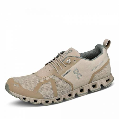 ON Cloud Waterproof Laufschuh - Damen - beige