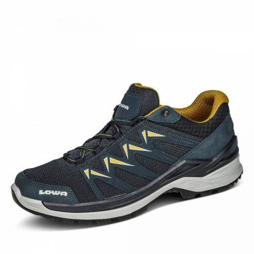 LOWA Innox Pro Lo Wanderschuh - Herren - blau, jetzt im Angebot