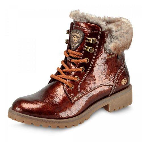 Dockers Boots - Damen - cognac