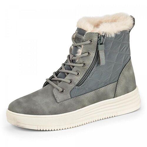 Esprit Cambridge Boots - Damen - grau, jetzt im Angebot