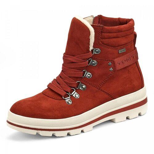 Tom Tailor TEX-Boots - Damen - rot, jetzt im Angebot