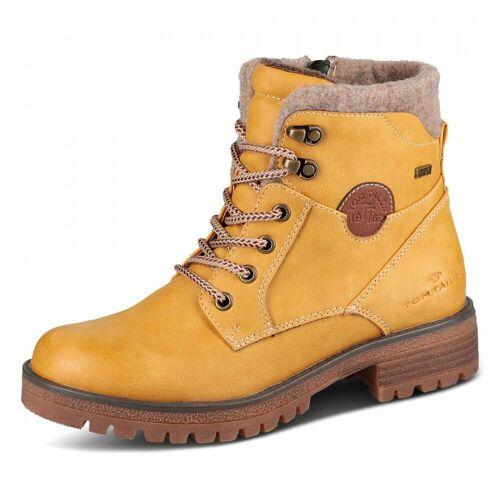 Tom Tailor TEX-Boots - Damen - gelb, jetzt im Angebot