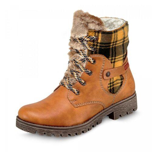 Rieker Boots - Damen - gelb