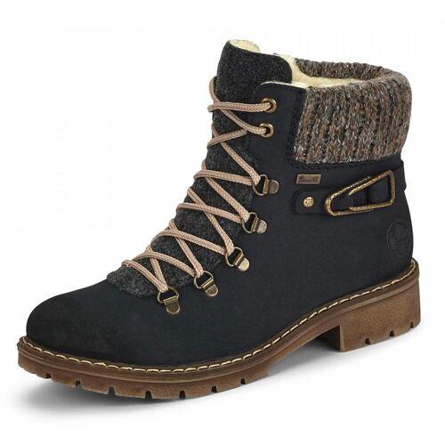 Rieker TEX-Boots - Damen - blau