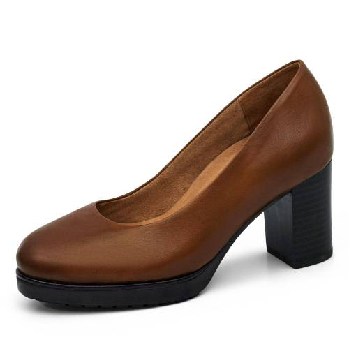 Caprice Pumps - Damen - cognac