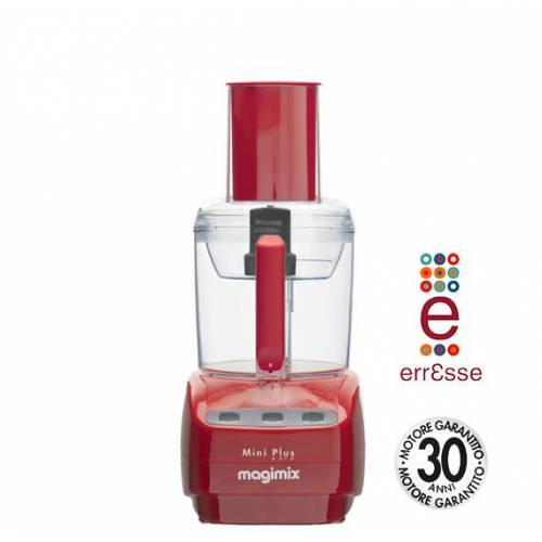 MAGIMIX Küchenmaschine Mini Plus rot