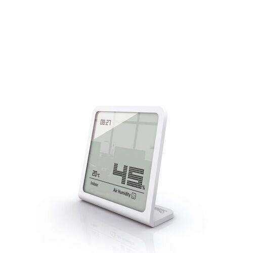 Stadler Form Hygrometer Thermometer Tischuhr Selina Weiß