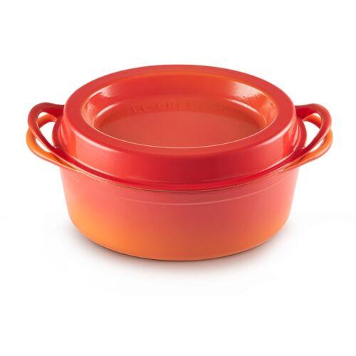 LE CREUSET Bräter Doufeu 32 cm Orange