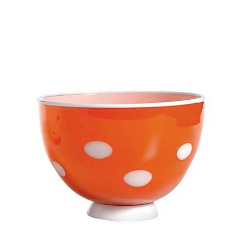 Zafferano-Tasse Bon Bon orange-weiß