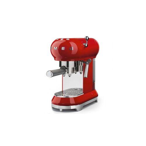 SMEG - Espresso Kaffeemaschine rot Serie 50 Jahre